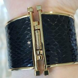 Rachel Zoe Jewelry - Like New Rachel Zoe Leather Cuff Bracelet